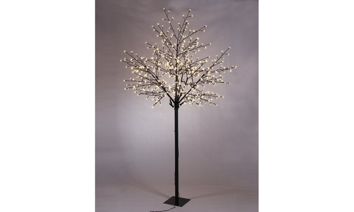 77be5e5ccb24 600-LED Cherry Blossom Tree | Groupon