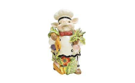 Kaldun & Bogle Home Decor Bistro Couchon Chef Pig Cookie Jar 0abcc7d8-763d-4cad-ab83-717a1ad94927