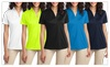 Shirts Hats and More: Ladies Moisture Wicking Performance Snag Resistant Polo Shirt Womens
