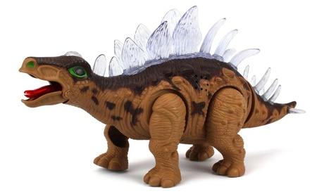 Dinosaur Century Stegosaurus Battery Op Toy Dinosaur Figure (Colors May Vary) 84069eb6-e925-42b2-973f-10889cc0fc90