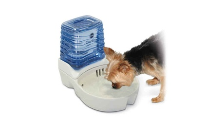 KH CleanFlow Dog Ceramic Fountain Off-White photo