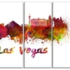 Las Vegas Skyline - Cityscape Metal Wall Art