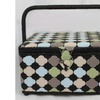Singer Large Sewing Basket with Moroccan Tile Print