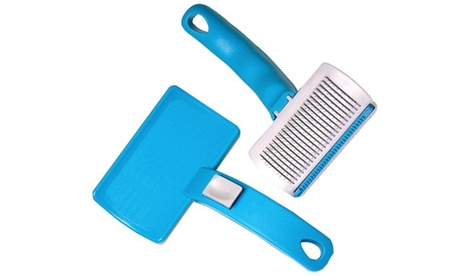 New Shed Away Brush For Pets Pet Grooming Dematting Brush 041e6c0c-dc60-4f86-8702-b87d9af08bcd