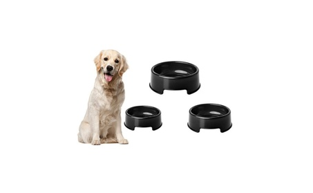 Black Anti Slip Black Bowl For Pets Cats Dogs acce1164-4451-4d03-929b-e81e110045c5