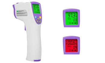 iMounTEK Digital Infrared Non-Contact Forehead Thermometer (9V Battery Included)