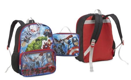 Marvel The Avengers Boys' Backpack & Lunch Bag 395f5fbc-4a1b-439e-b740-1e30dc263193
