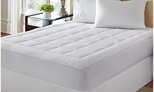 LoftWorks Microplush Soft Mattress Pad