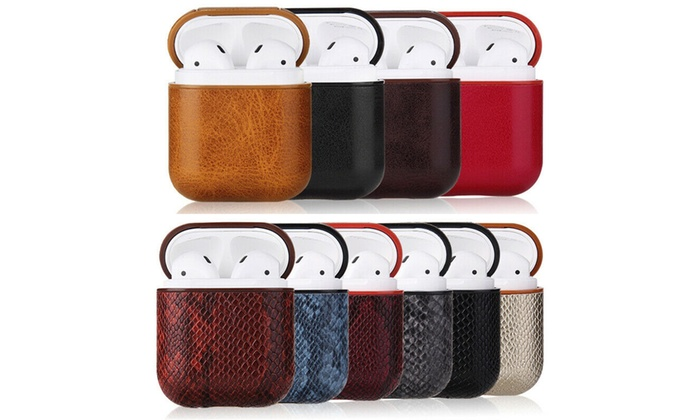 Up To 66% Off on Luxury AirPods Case Leather P    | Groupon