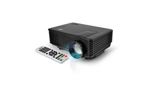 Pyle Pro PRJG88 PRJG88 Compact 1080p Multimedia Projector, Black