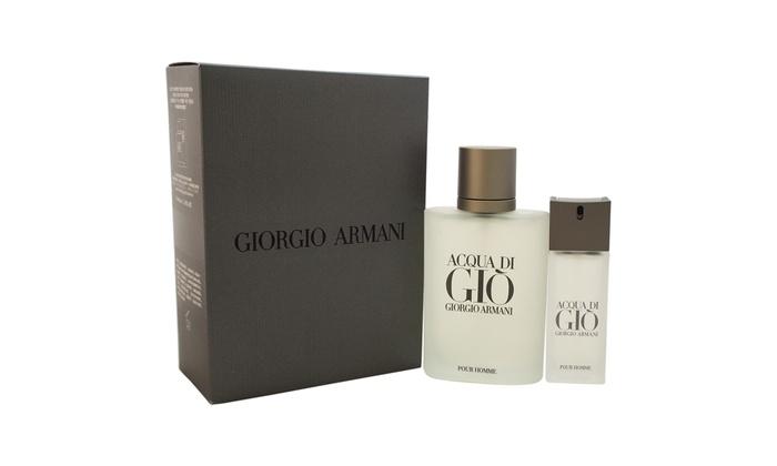 Acqua Di Gio By Giorgio Armani For Men 2 Pc Groupon