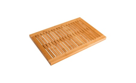 Bamboo Shower Mat Bathroom Bath Floor 00b49734-bd36-4d58-ac6c-70d6044dd4f9