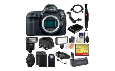 Canon EOS 5D Mark IV 4K Wi-Fi DSLR Camera Body with 128GB Bundle 16ba3262-6947-41a1-86b2-164c1fc31998