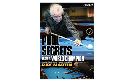 Pool Secrets from a World Champion (Two DVD Set) 79772800-b21d-47f1-b29f-caa071c77f73