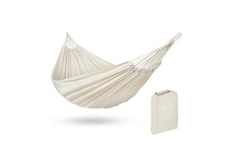 Portable Brazilian Double Hammock Bed 2 Person Patio, Camping 38ceab50-fb29-497f-8018-dd78e21fb250