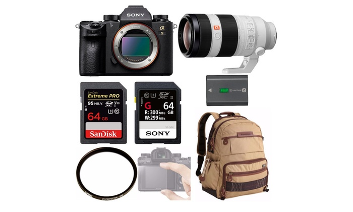 Up To 22% Off on Sony a9 Full Frame Mirrorless... | Groupon Goods