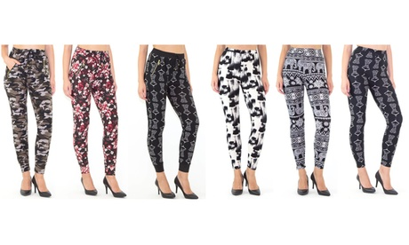 INDERO 3 Pack Junior's Yummy Printed Joggers or Leggings 7b14d566-8944-4dcc-bb24-1a915650b869