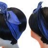 Denim - Twist Tie Flexible headband