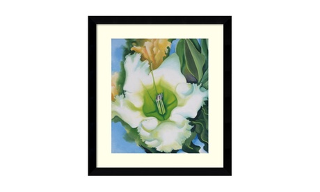 """Framed Art Print 'Cup of Silver Ginger, 1939' by Georgia O'Keeffe: Outer 30x33"""" 9961430e-2591-4331-8789-810fcf8e4c70"""