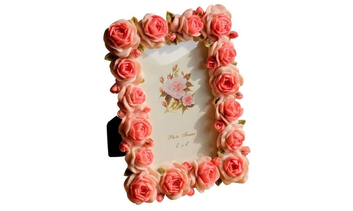 Up To 11 Off On Rose 4x6 Picture Frames For P Groupon Goods