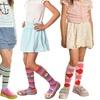 Girls Cotton Knee High Socks (6 Pair)