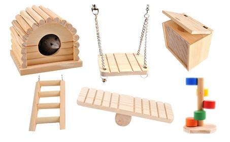 Small Animals Pets Toys for Guinea Pig Hamster 6pc Set 908cd4f6-e124-44a2-82b5-7c2e96f320a5