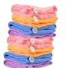 Womens Quality Quick-Dry Microfiber Towel Hair Wraps Hair Towel 4 Pack
