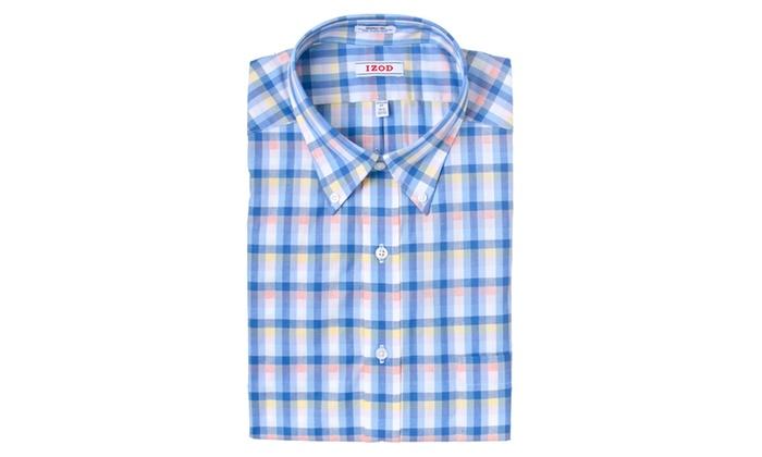 IZOD Regular Fit Wrinkle-Free Dress Shirt A1702
