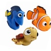 Disney Finding Nemo Baby Bath Toys Pack Of 3 Nemo Dory Turtle Kid Fun