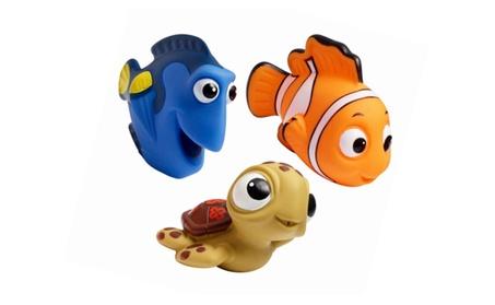 Disney Finding Nemo Baby Bath Toys Pack Of 3 Nemo Dory Turtle Kid Fun 04393275-8959-4628-bd1a-0ec8ceb13342