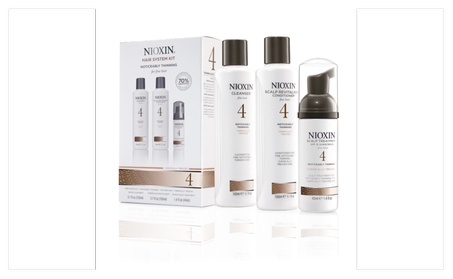 Nioxin System 4 Kit, Noticeably Thinning, Fine, Hair 32152100-0f82-4409-930f-5eadd44bfaac