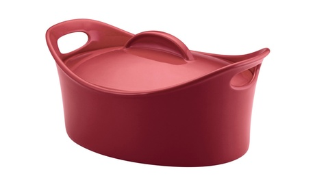 Rachael Ray 4-1/4 Qt Casseroval Covered Baking Dish 2b15982e-ddd5-4ed9-8293-e496fd8645cf