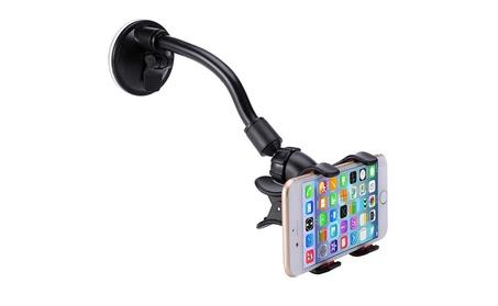 Universal Rotating Gooseneck Car Phone Holder d125339c-cbd5-4abe-b12f-9ca6d611fb60
