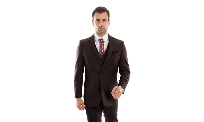 Braveman Men's Slim-Fit Suits (3-Piece) Make a fashion statement at business functions, weddings, and other formal events with these 3-piece suits in a modern, slim-fit cut. Check out great deals on things to do from kids activities to nightlife; try out new restaurants, spas, massages and hair salons near you, or plan a trip away from home/5().