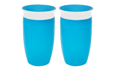 Munchkin Miracle 360 Sippy Cup, 10 Ounce, (2 Pack) c0d6c3d3-7fef-4141-aac2-9e41f9494d0f
