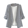 Women's Stripes Casual Blazer For Women