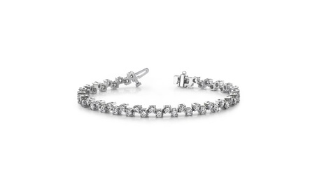 4.00 ct. Round Diamond Tennis Checkered Bracelet 220c9c2c-089c-4193-a0e1-58f491ef0fe1