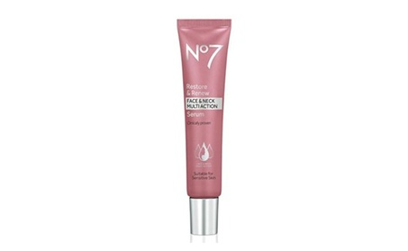 No7 Restore & Renew Face & Neck MULTI ACTION Serum 30ml 4a4b2a00-d4db-4c03-9a6b-8b3cf43bade4