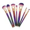 7pcs Honeycomb Foundation Makeup Brush Set Beauty Cosmetic Tool Gift
