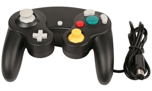 Wired Shock Controller for Nintendo Wii and GameCube