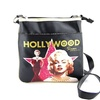 Licensed Marilyn Hollywood Star Crossbody Bag
