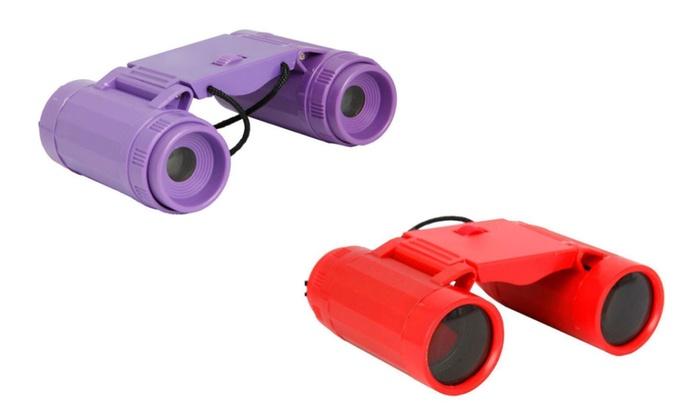 2.5x26 Binoculars Mini Children Telescopes Portable Toy Tool