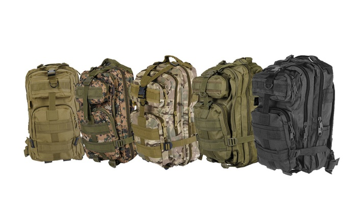 Every Day Carry MOLLE Tactical Outdoor Backpack Hydration Pack Ready