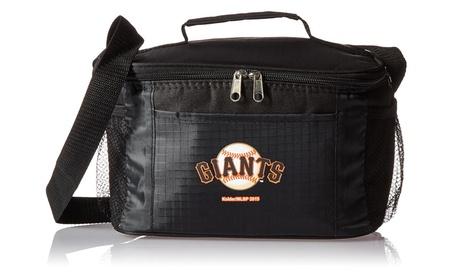 San Francisco Giants Kolder Kooler Bag - 6pk - Black b7a77b57-98ed-4d12-997b-aef5ba0b1b2b
