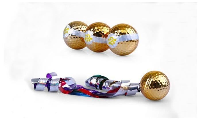 A99 Golf Ribbon Ball Jet Streamer Gift Set Ball
