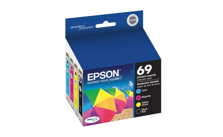Epson T069 COMPATIBLE Cartridges Value Pack (BK/M/C/Y)