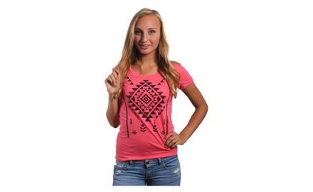 Navajo Print T Shirt