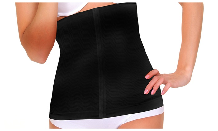 Graduated Compression and Detox Waist Wrap Slimmer