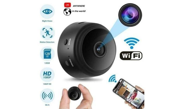 Mini Spy Camera Wireless Wifi IP Home Security HD DVR Night Vision Remote