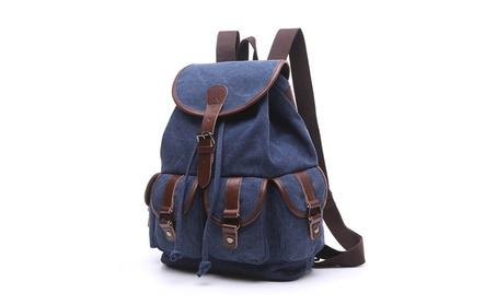 Men/Women Retro Canvas Single/Dual Shoulder Backpack Outdoor Chest Bag 9425d2e1-2fb9-4cc0-9aba-87c7fe98b769